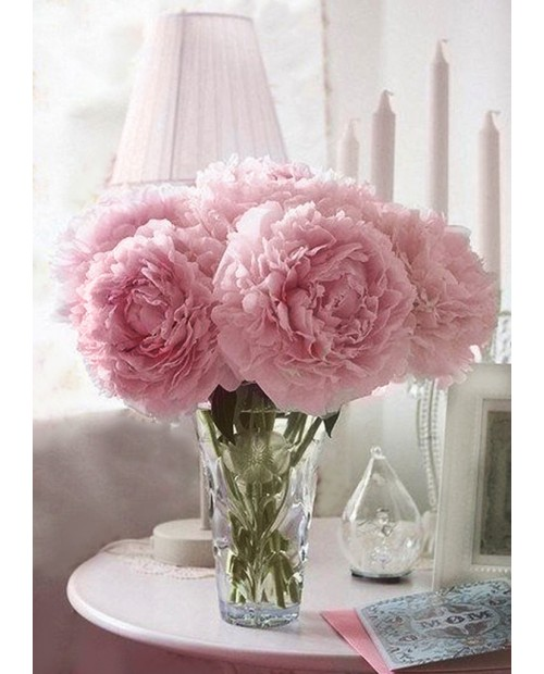 Soft Peonies WD002