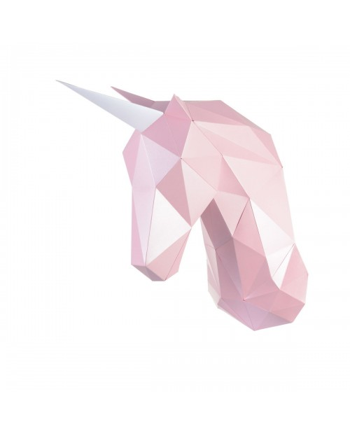Wizardi 3D Papercraft Kit Unicorn PP-1EDZ-PIN