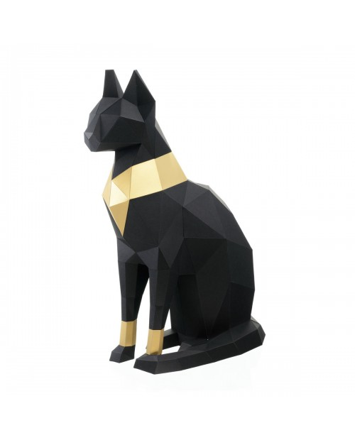Wizardi 3D Papercraft Kit Cat PP-2KBA-2BG