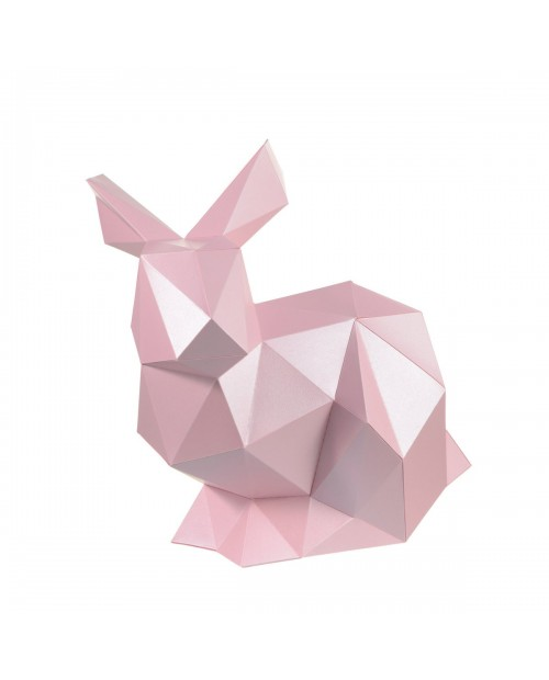 Wizardi 3D Papercraft Kit Rabbit PP-2KRN-PIN