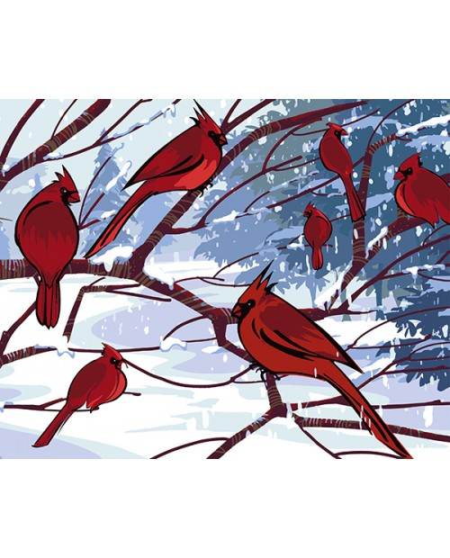 T40500030 Red Cardinals