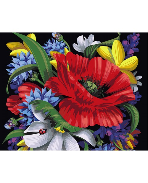T40500024 Bouquet with Ladybug