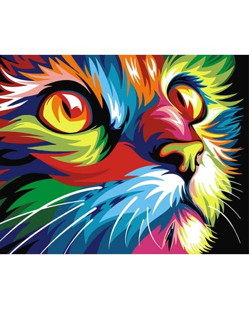 T40502007 Rainbow Cat