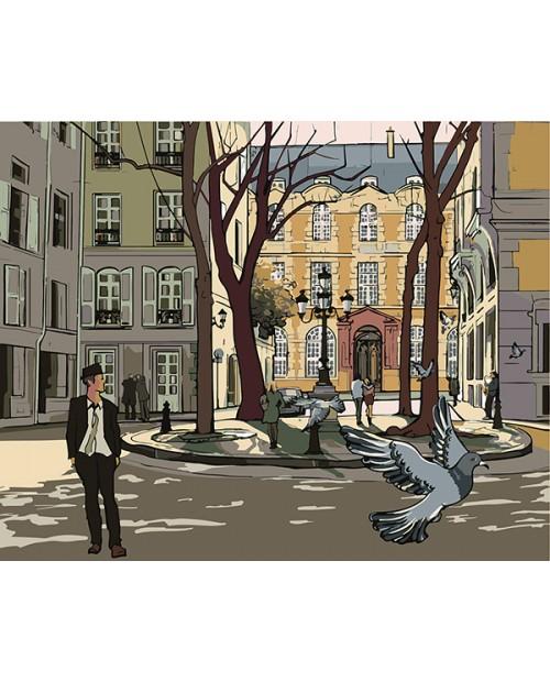 T40500039 Улица в Париже