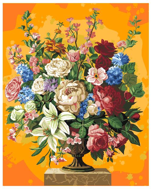 T50400044 Цветочное Изобилие