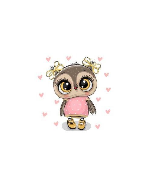 WD2374 Owl Nika
