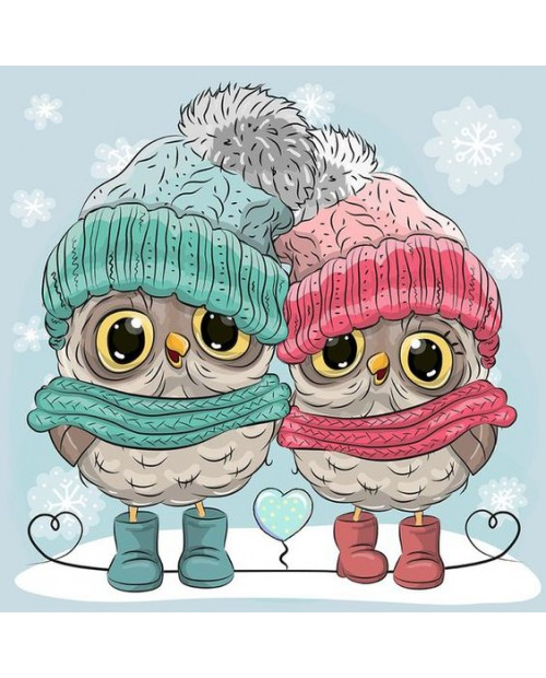 WD2338 Winter Owlets