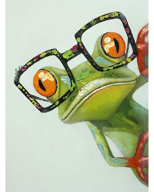 WD2362 Frog with Glasses