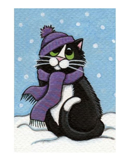 WD2321 Winter Cat