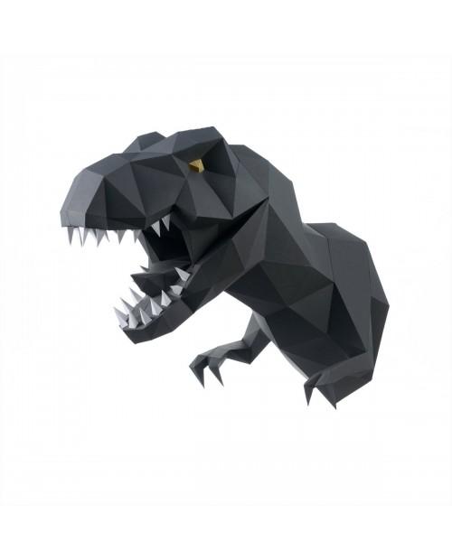 Wizardi 3D Papercraft Kit Dinosaur PP-1DIZ-GRA
