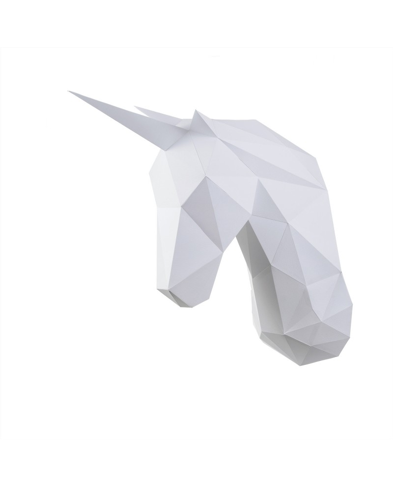 Wizardi 3D Papercraft Kit Unicorn PP-1EDS-WHT