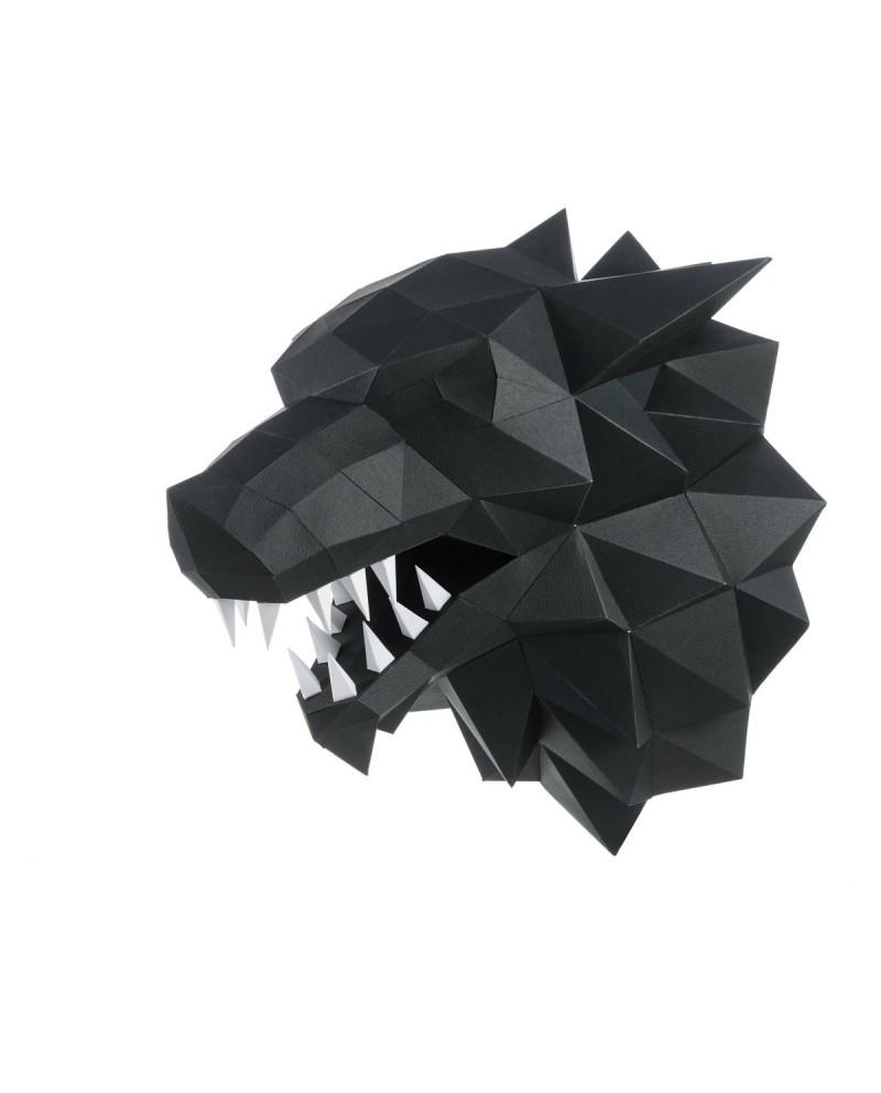 Wizardi 3D Papercraft Kit Werewolf PP-1LTV-BLA