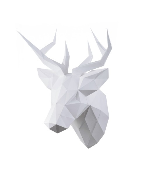Wizardi 3D Papercraft Kit Deer PP-1OLP-WHT