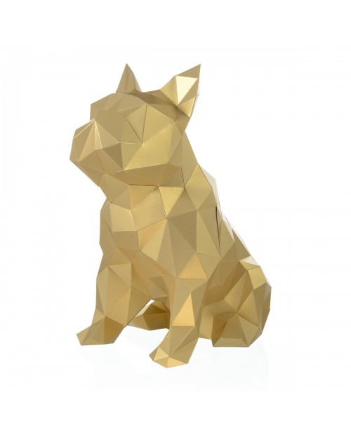 Wizardi 3D Papercraft Kit Bulldog PP-2BJU-GLD