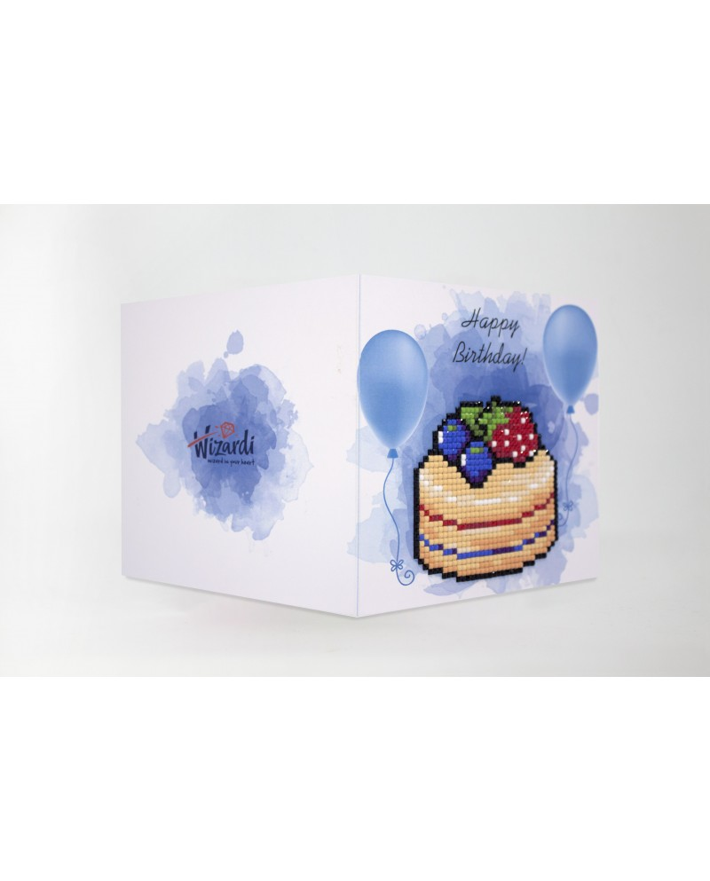 Happy Birthday (Cake) WC0394
