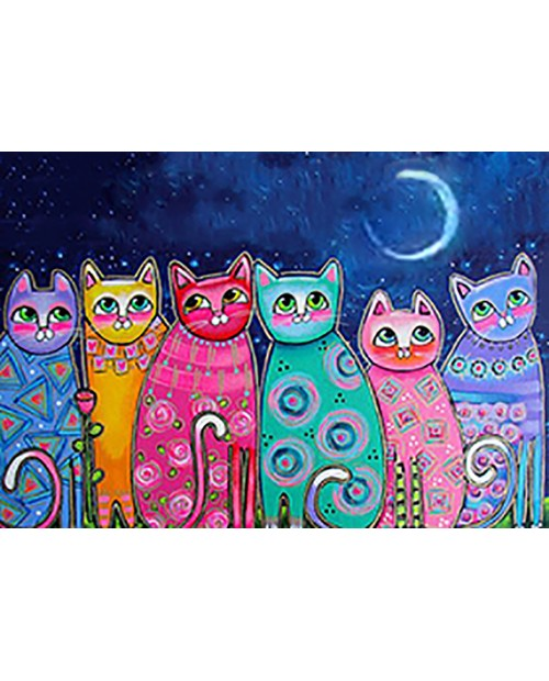 Colourful Cats WD2390