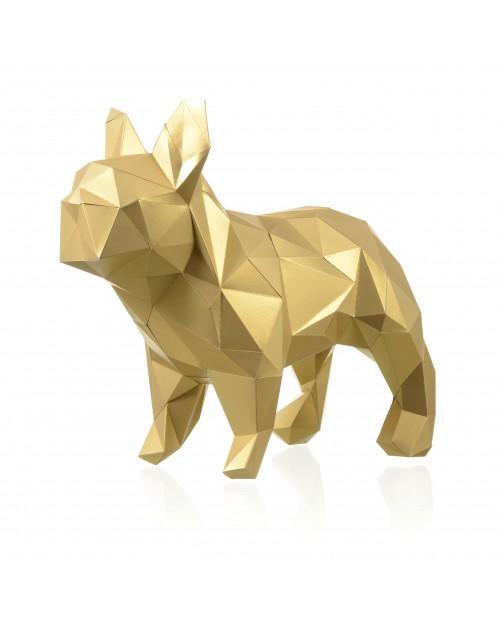 Wizardi 3D Papercraft Kit Bulldog PP-2BMA-GLD