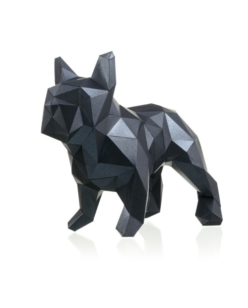 Wizardi 3D Papercraft Kit Bulldog PP-2BMA-BLA