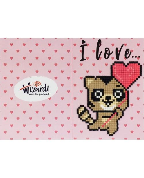 I Love You (Raccoon) WC0398