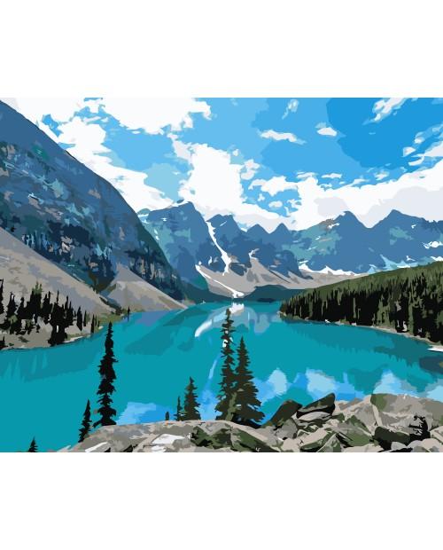 A018 Горное Озеро