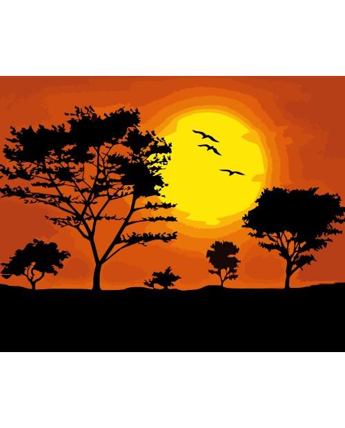A021 Закат Солнца