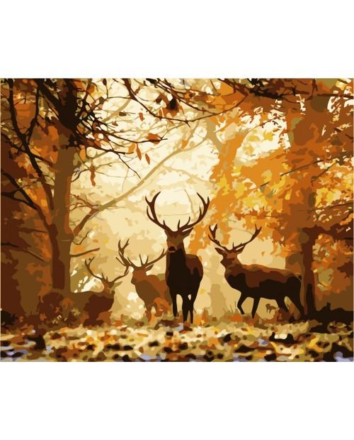H001 Forest Deer