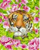 H099 Romantic Tiger
