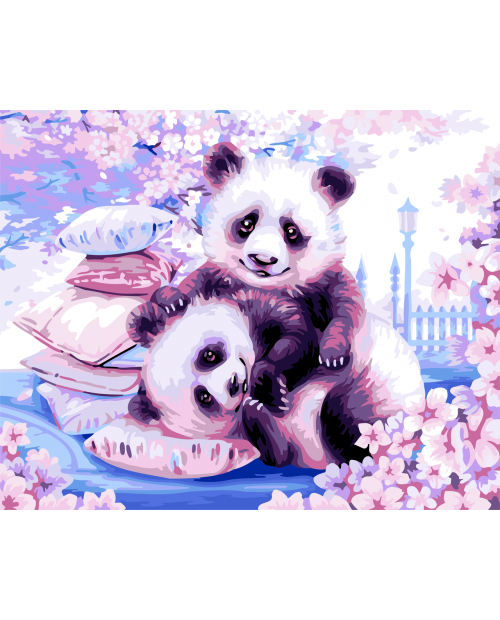 H107 Японские Панды