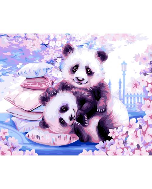 H107 Japanese Pandas