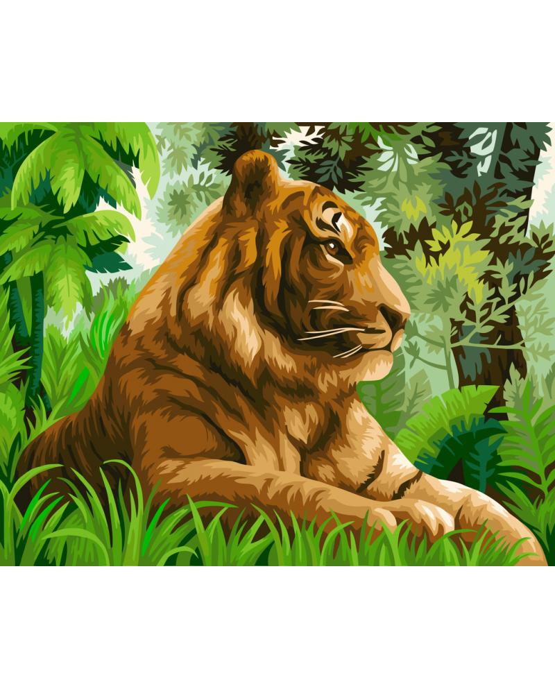 H110 Тигр в Джунглях