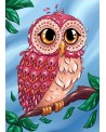 Colourful Owl WD2491