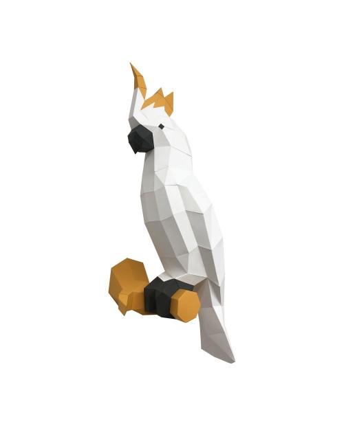 Wizardi 3D Papercraft Kit Cockatoo PP-1KKD-2WK