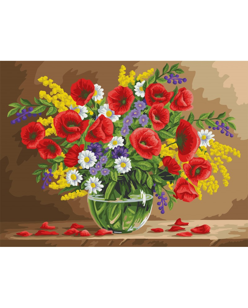 B105 Fragrant Poppies
