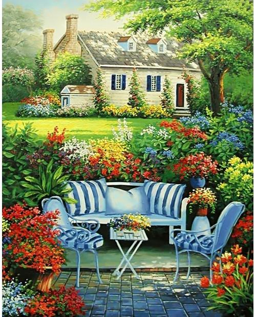 Уютный Цветник WD097