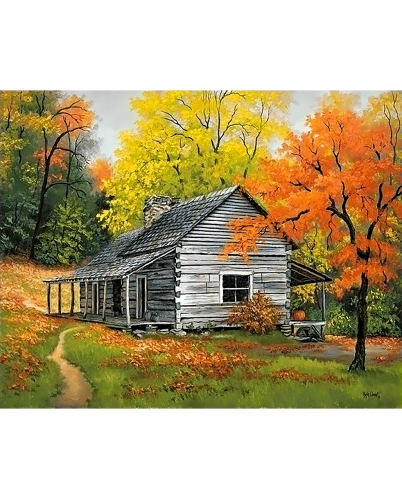 House in the Woods WD101