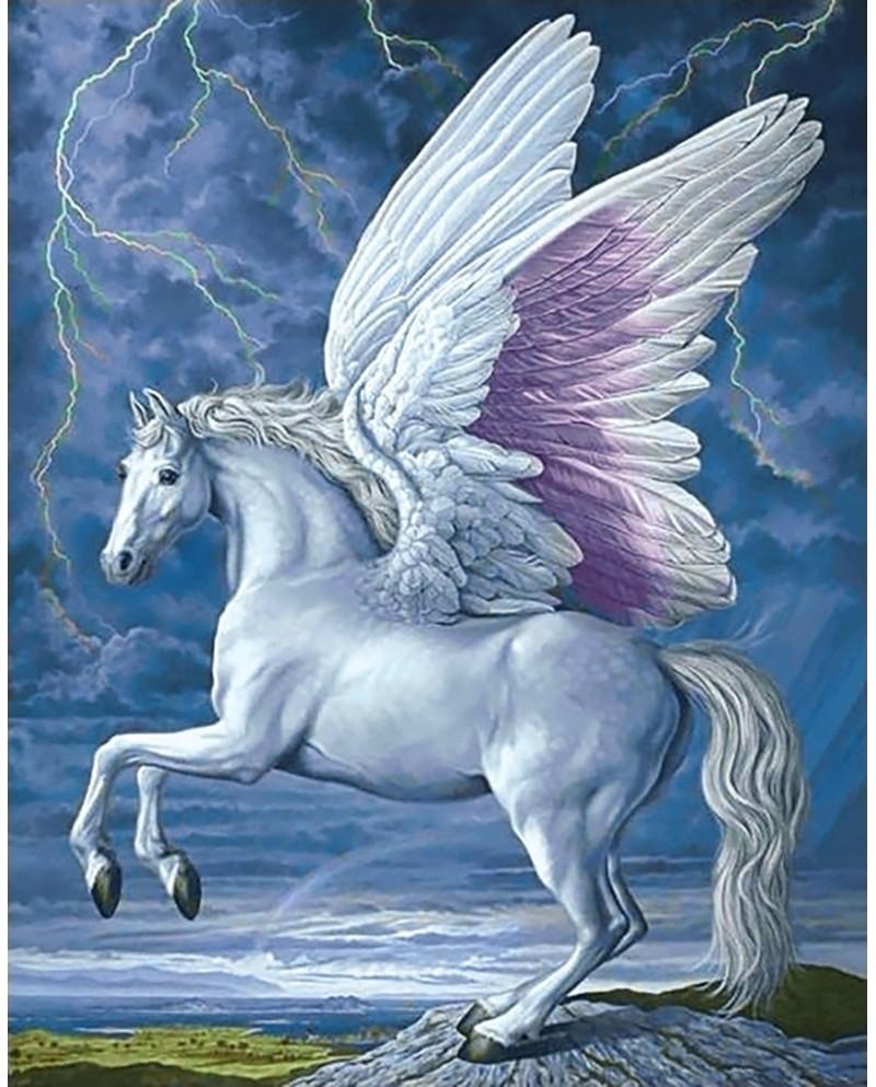 Картинка лошадка пегас